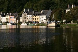 Port Launay, Châteaulin, l'Aulne