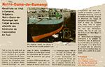 Le Télégramme 10 Mars 2008 : Carénage de Notre-Dame de Rumengol