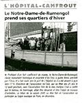 Le Télégramme 2005, hivernage de Notre-Dame de Rumengol