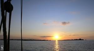 Lever de soleil à Lesconil - photo sophie-g.net